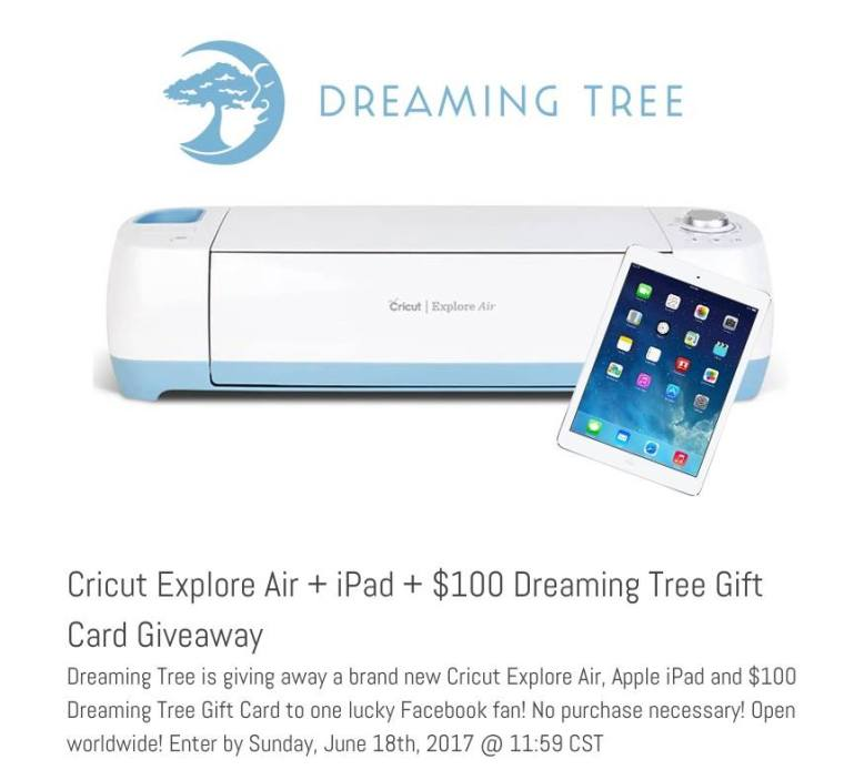 Dreaming tree giveaway
