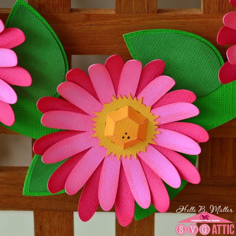 Flat 3d daisy my creative hideout the small dot on the centers of the flowers finally i tied a pink dottet ribbon on top and thats it very very easy to make and its so spring y mightylinksfo