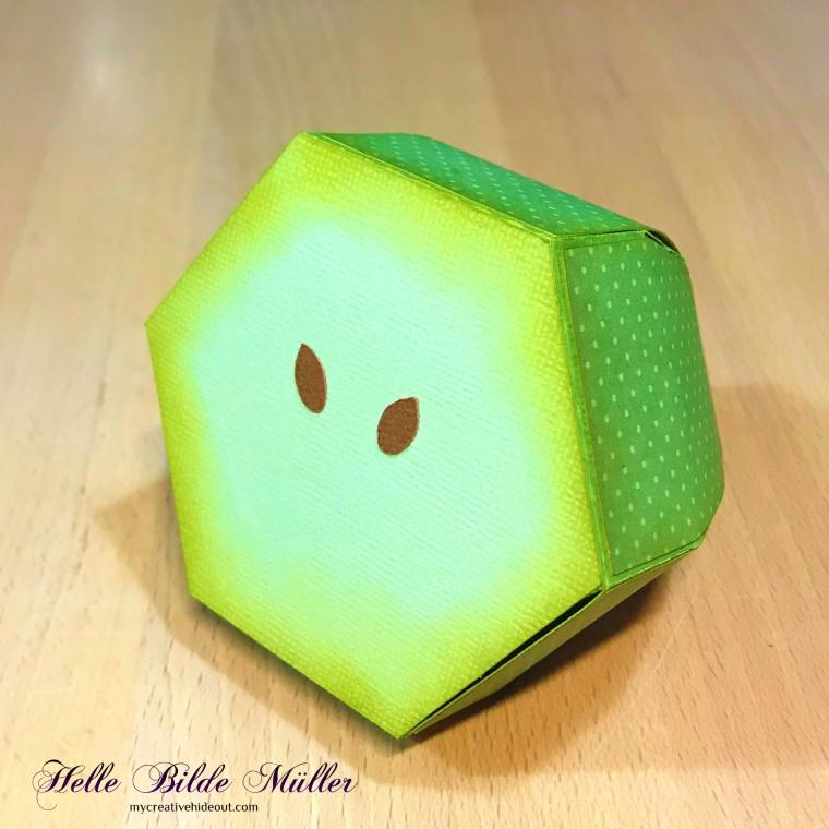 Æble skive 1