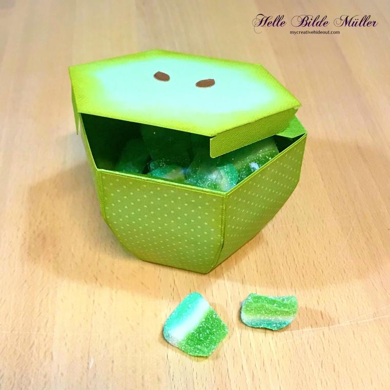 Æble skive 2