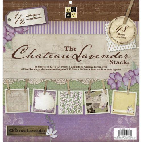 set_de_scrapbooking_chateau_lavender_dcwv_30x30cm